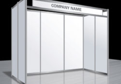 White Octanorm Booths