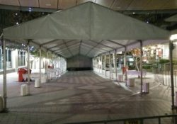 stage and cover