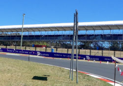 Grandstand roof supplied only
